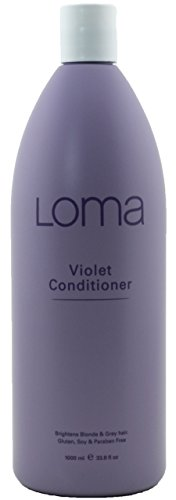 Loma Hair Care Violet Conditioner, Lemon/Eucalyptus, 33.8 fl. oz.
