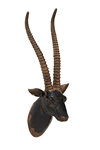 Deco 79 14834 Fiberglass Gazel Trophy Head, 9