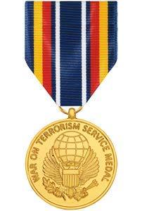 Medals of America Global War On Terrorism Service Medal Anodized (Army Global War On Terrorism Ribbon Criteria)