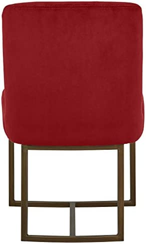 Amazon Brand Rivet Eastern Modern Velvet Dining Kitchen Chair