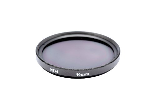 Gadget Career 46mm Neutral Density ND4 Filter for Panasonic Leica Summilux DG 25mm F1.4 by Gadget Career