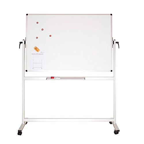 XBoard School Office Mobile Magnetic Dry Erase Board on Wheels,Double-Sided Rolling Whiteboard with Aluminum Stand, 60'' x 40'' by XBoard (Image #6)