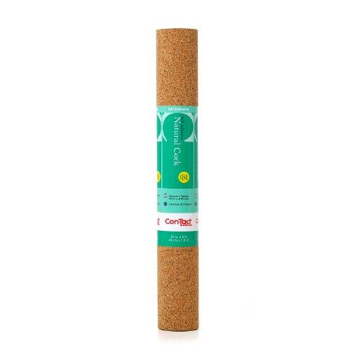 Con-Tact Brand Natural Cork Self-Adhesive Shelf Liner, 18
