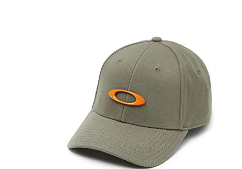 Oakley Mens Men's Tincan Cap, Dark Brush, S/M