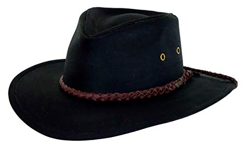 Outback Trading Co Men's Co. Grizzly Oilskin Hat Black Large ()