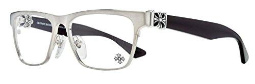 Chrome Hearts - Petcock- Eyeglasses (Brushed Silver, - Chrome Glasses