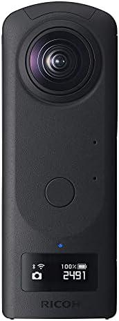 RICOH Theta Z1 51GB Black 360° Camera, Two 1.0-inch Back-Illuminated CMOS sensors, Increased 51GB Internal Mem