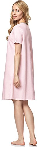 Italian Fashion IF Camisón para Mujer Suri 0114 Salmón