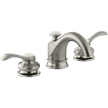 Kohler Fairfax K 12265 4 Bn 2 Handle Widespread Bathroom Faucet With