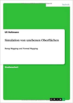 Book Simulation Von Unebenen Oberflachen