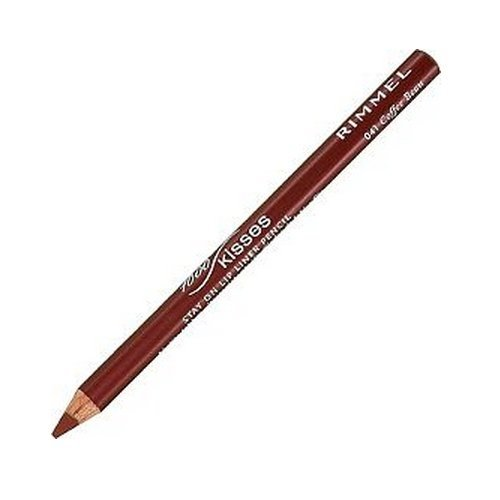 RIMMEL LONDON Lasting Finish 1000 Kisses Stay On Lip Liner Pencil - Coffee Bean by -
