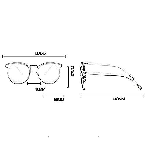 espejo moda viajes de conducción protección polarizadas al libre Color Gafas sol contra C de aire HD UV B solar de playa gafas ZHIRONG de xY6zFwqwX
