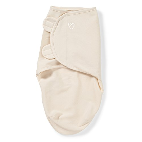 Wrap Swaddleme Adjustable Infant (SwaddleMe Original Swaddle 1-PK, Ivory (Preemie))