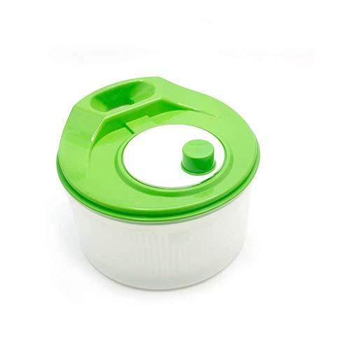 Kitchen Salad Fruit Vegetable Lettuce Spinner Strainer Big Colander Dryer Sifter (Random color)