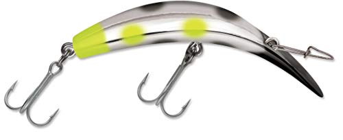 Used, Luhr Jensen K14 Kwikfish (Rattle) Black Chartreuse for sale  Delivered anywhere in USA
