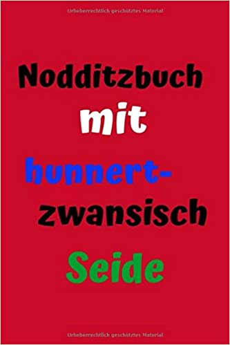 Nodditzbuch Mit Hunnertzwansisch Seide Notizbuch Hessische