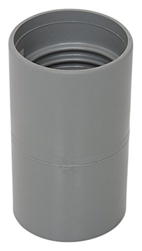 "Flexaust 03100240 Genesis PVC Double Threaded Hose Connector for Series Commercial, FLX Plus, Uni-Loop, UT and Dips 1.5"" Vacuum Hoses"