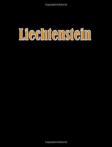 Liechtenstein: 8.5 x 11 bullet journal 100 dotted notebook pages