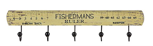 Creative Co Op Fishermans Ruler Decor