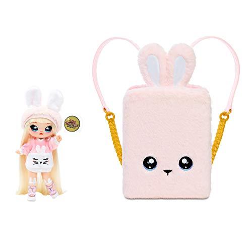 Na! Na! Na! Surprise 3 en 1 Mochila Dormitorio Pink Bunny con Muñeca Aubrey Heart de Edición Limitada