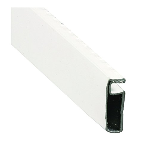 Prime-Line MP14091 Aluminum Screen Frame, 1/4 in. x 3/4 in. x 72 in, White Finish, (Box of 20)