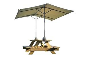 ShadeLogic Quick Clamp Canopy Tilt Mount, Tan