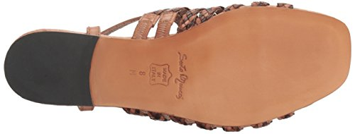 Sesto Meucci Women's Geppy Flat Sandal Natural Stained Calf/Beige Multi Stain Calf footlocker for sale free shipping original discount cheap price WUYcUCl68Q