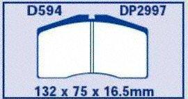 EBC Brakes DP2997 Greenstuff 2000 Series Sport Brake Pad