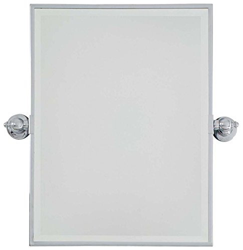 Minka Lavery 1440-77 Rectangle Bath Mirror, Clear Finish,