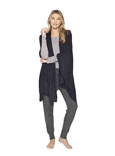 Barefoot Dreams Wrap - BarefootDreams Bamboo Chic Lite Weekend Wrap - Black,One Size