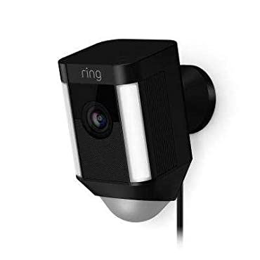 Ring Spotlight Cam Wired Plugged-in HD Security Camera