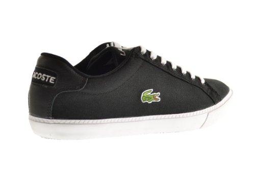 Amazon.com | Lacoste Graduate VULC FB SPM Canvas Men's Shoes Black/White  7-27spm1249312 | Fashion Sneakers