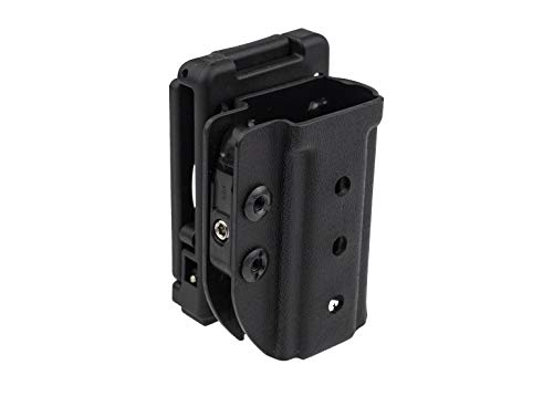 CrossBreed Holsters Accomplice Push Lock Mag Carrier with QLS 9mm/40cal Double Stack | Adjustable Retention