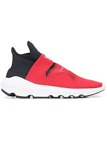 adidas Y-3 Yohji Yamamoto Slip On Sneakers Uomo AC7198 Poliammide Nero/Rosso