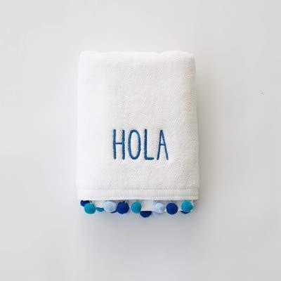 WLLLO Toalla de baño de la Toalla de la natación de la Playa del Bordado del Hotel del algodón Puro del Agua del Espesamiento de, 70X140Cm F: Amazon.es: ...