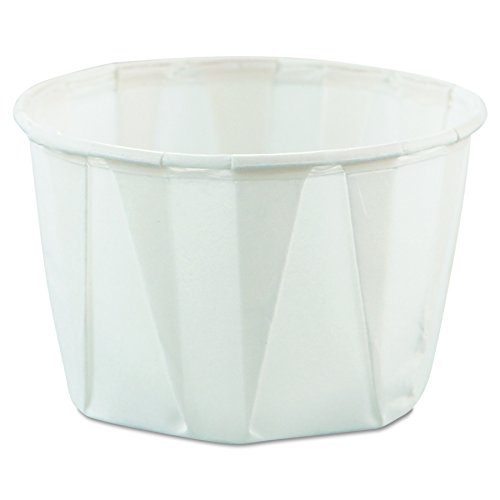 Solo 200-2050 2 oz Treated Paper Portion Cup (Case of - Portion 2 Container Oz