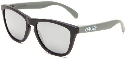 Oakley Frogskins 24-335 Iridium Wayfarer Sunglasses,Matte