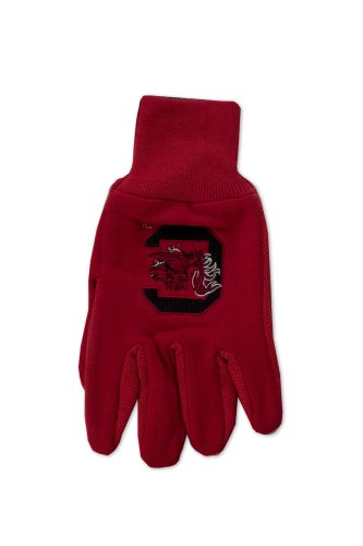 NCAA South Carolina Gamecocks Two-Tone Gloves, - Apparel Outlet Athletic
