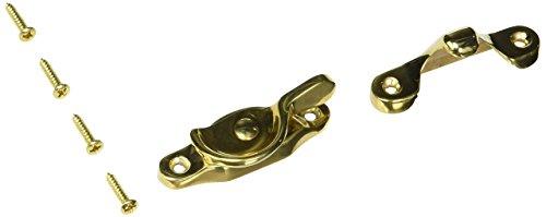 (Baldwin 0452031 Sash Lock, Unlacquered Bright Brass )