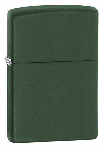 Zippo Pipe Lighter: Green Matte 221PL