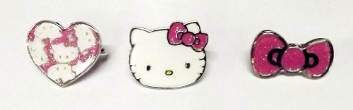 Hello Kitty Two Finger Ring (Styles May Vary)