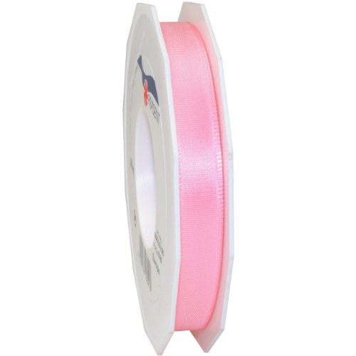 Morex Ribbon Europa Taffeta Ribbon, 5/8-Inch by 55-Yard Spool, Light Pink