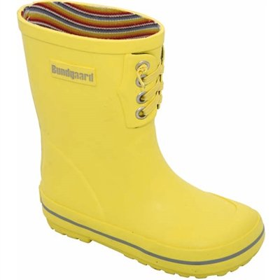 Bundgaard Kids Classic Rubber Boots Rubberboots Yellow 21