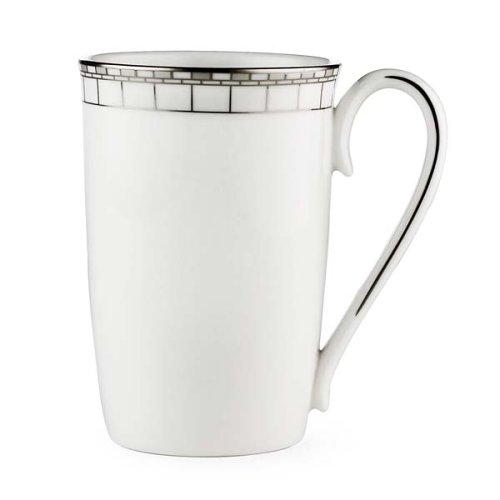 Lenox Timeless Bone China Platinum Banded Accent Mug