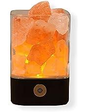 مصباح ملح الهيمالايا البلوري LED علاج طبيعي