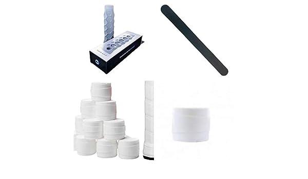 Grip Padel HESACORE Tour Grip + 1 Protector ZRZ Negro + 1 overgrip Wilson Pro Liso: Amazon.es: Deportes y aire libre