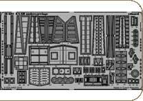 Eduard Photoetch 1 : 48 – ea-6b Prowler Undercarriage ( Kinetic ) – edp48681   B009YK813K