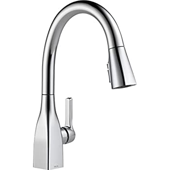 Delta Faucet Mateo Single Handle Kitchen Sink Faucet With