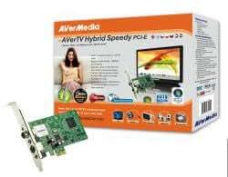 AVerMedia TV Hybrid PCIe - Sintonizador de TV (Analógica, DVB-T, PCI Express, 512 MB, 500 MB, -Pentium 4 2.6 GHz -AMD AthlonXP 2600+, Windows XP / XP MCE / Vista / Vista MCE)