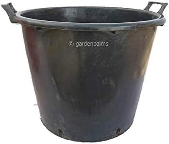 Vasi Neri In Plastica.Vasi Extra Grandi Per Piante Palme Alberi In Plastica Nera 65